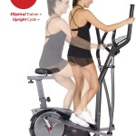Body Champ BRM3780 2-in-1 Elliptical Dual Trainer with Seat