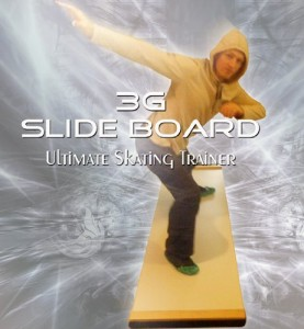 3G Ultimate Skating Trainer - Slide Board