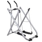 Goplus Indoor Air Walker Glider Fitness Exercise Machine Workout Trainer Gym