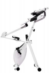 Merax Magnetic Upright Exercise Bike with Pad Bracket