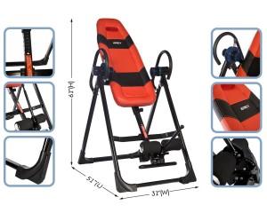 Emer Pro Deluxe Gravity Inversion Therapy Table EMERCI-01SL