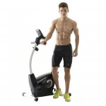 Fitleader Indoor Upright Magnetic Stationary Pro Cardio Exercise Bike FX2