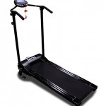 New MTN LCD Electric Portable Motorized Folding Running Machine Treadmill 1100W