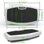 Health Line Massage Products Full Body Vibration Plate