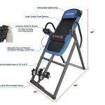Innova ITM4800 Advanced Heat and Massage Therapeutic Inversion Therapy Table