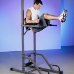 XMark VKR XM-4432 Vertical Knee Raise with Dip and Pull-up Station Power Tower