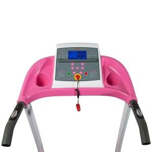 Sunny Health Fitness P8700 Pink Treadmill