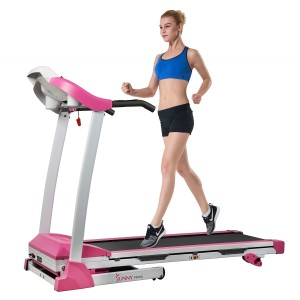 Sunny Health and Fitness P8700 Pink Treadmill