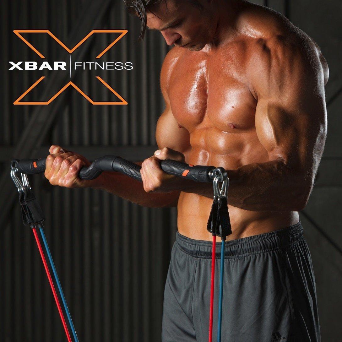 Xbar Resistance Band & EZ Bar Workout System