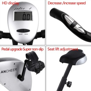 Ancheer Folding Magnetic Upright Indoor Bike