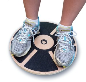 Fitaboo Wooden Balance Board - PRO Wobble Board