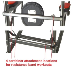 I J Fitness VKR Chin up Push-up Pull up Dip Ab Workout Deluxe Power Tower Station
