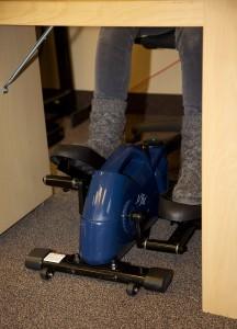 J-fit Under Desk or Stand up Mini Elliptical