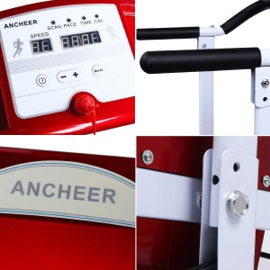 Ancheer Walking Running Folding Electric Treadmill