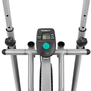 Plasma Fit Elliptical Machine Trainer 2 in 1 Bike
