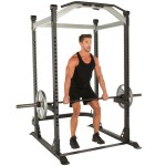 IRONMAN Triathlon X-Class Light Commercial High-Capacity Olympic Power Cage - 6877