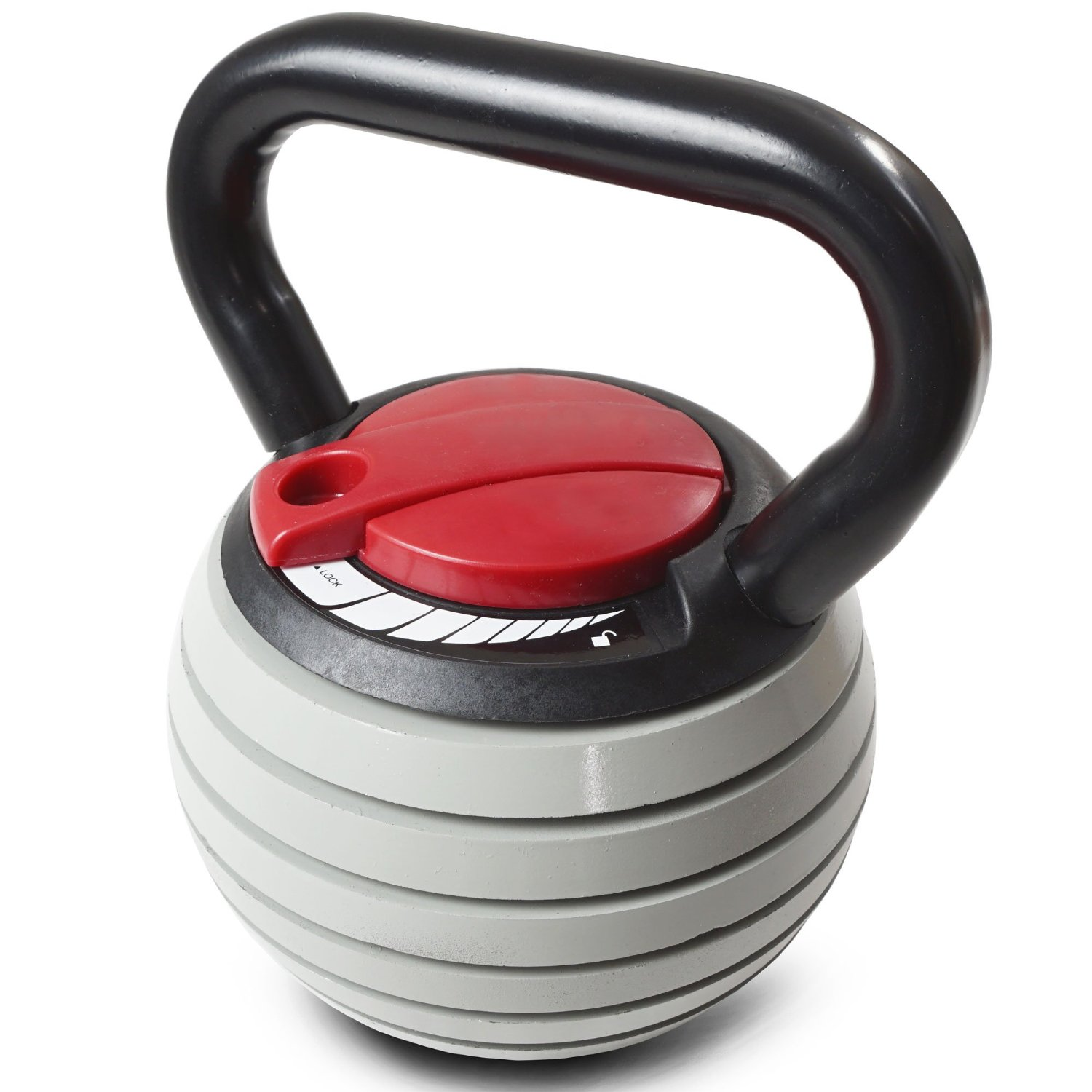 Titan Fitness 5 lb. - 35 lb Adjustable Kettlebell Weight Lifting
