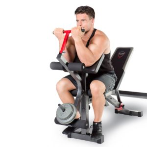 CAP Barbell Strength Olympic Bench with Preacher Pad FM-CS7105B