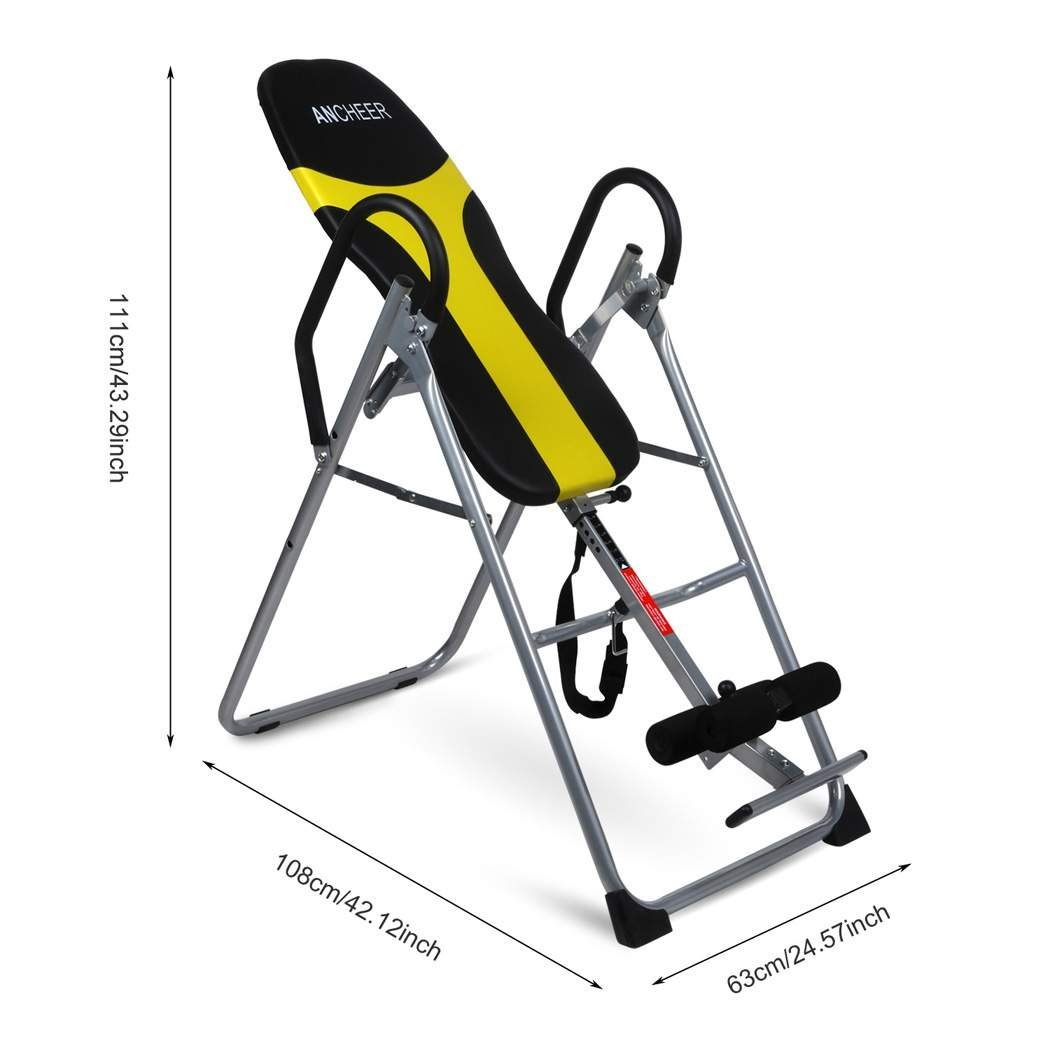 Ancheer Back Inversion Therapy Table