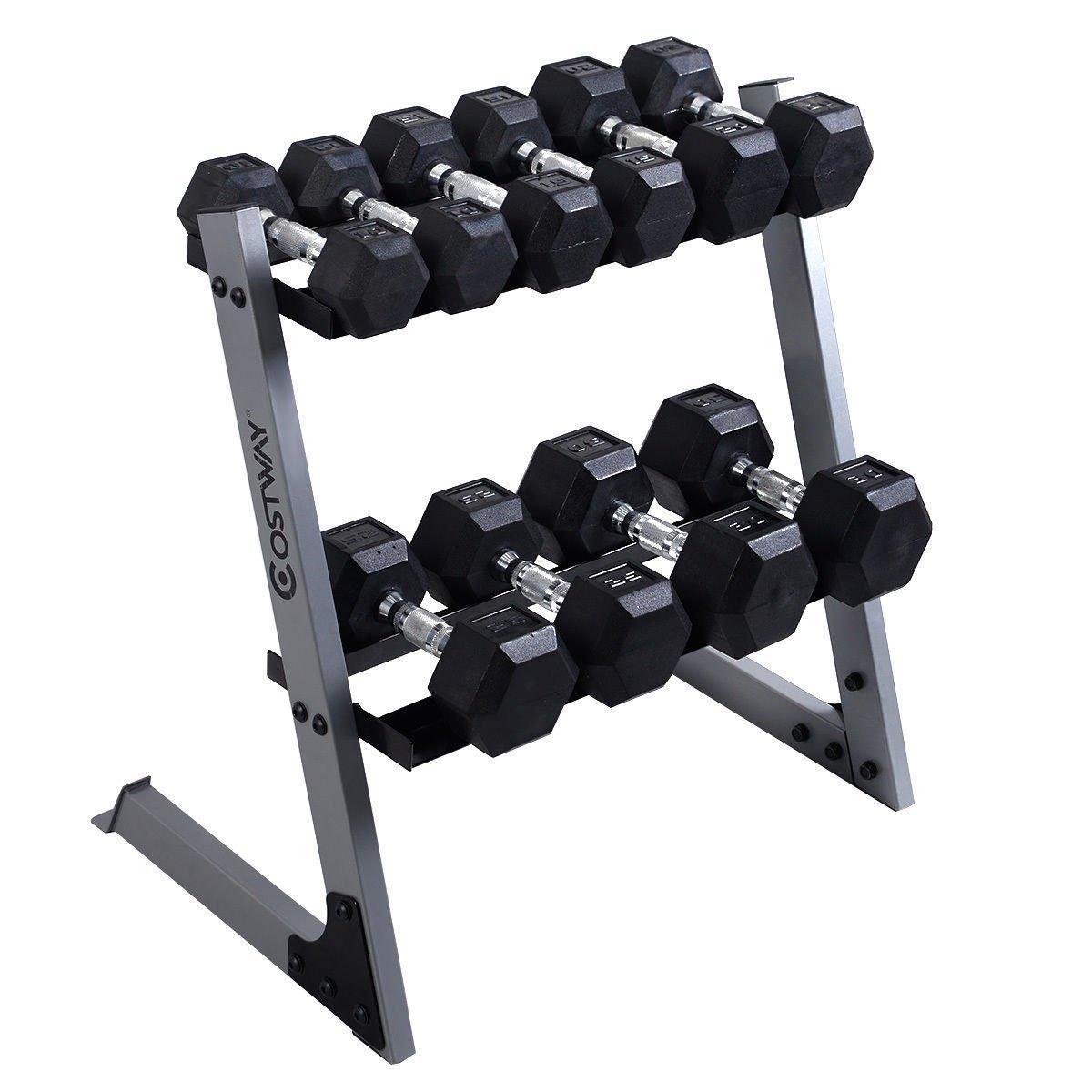 Giantex Dumbbell Weight Storage Rack