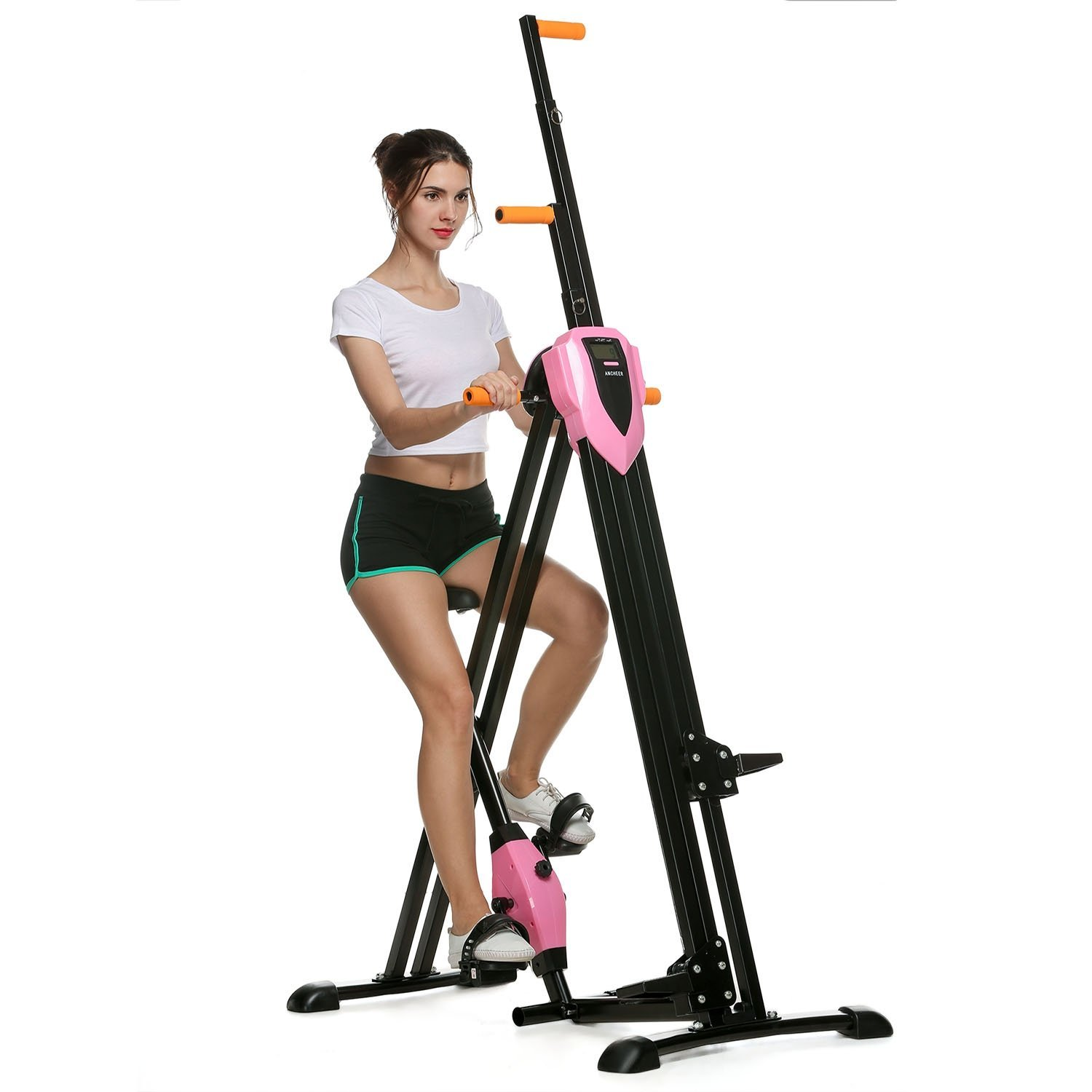 Ancheer Vertical Climber Machine Total Body Workout