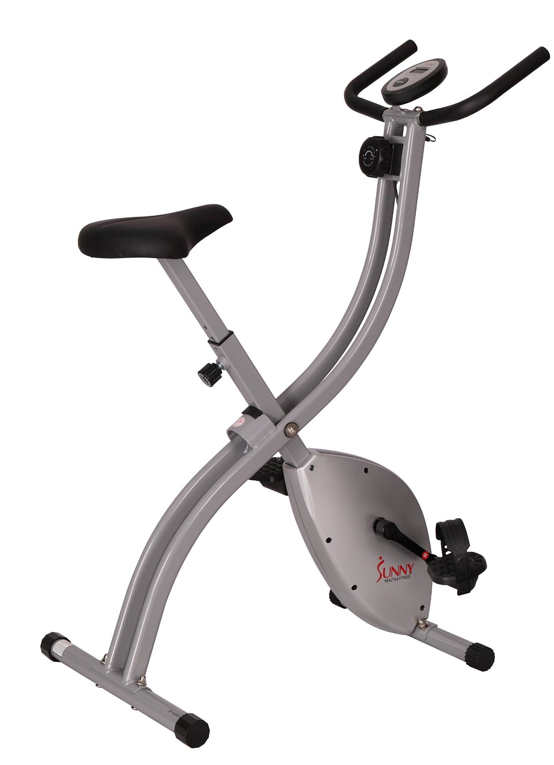 Sunny Health Fitness SF-B2605 Folding Magnetic Upright Exercise Bike