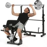 Ancheer Olympic Weight Bench Multi-Function Adjustable Weight Bench