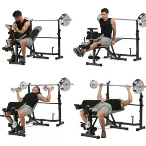 Ancheer Olympic Weight Bench Multifunction Adjustable Weight Bench