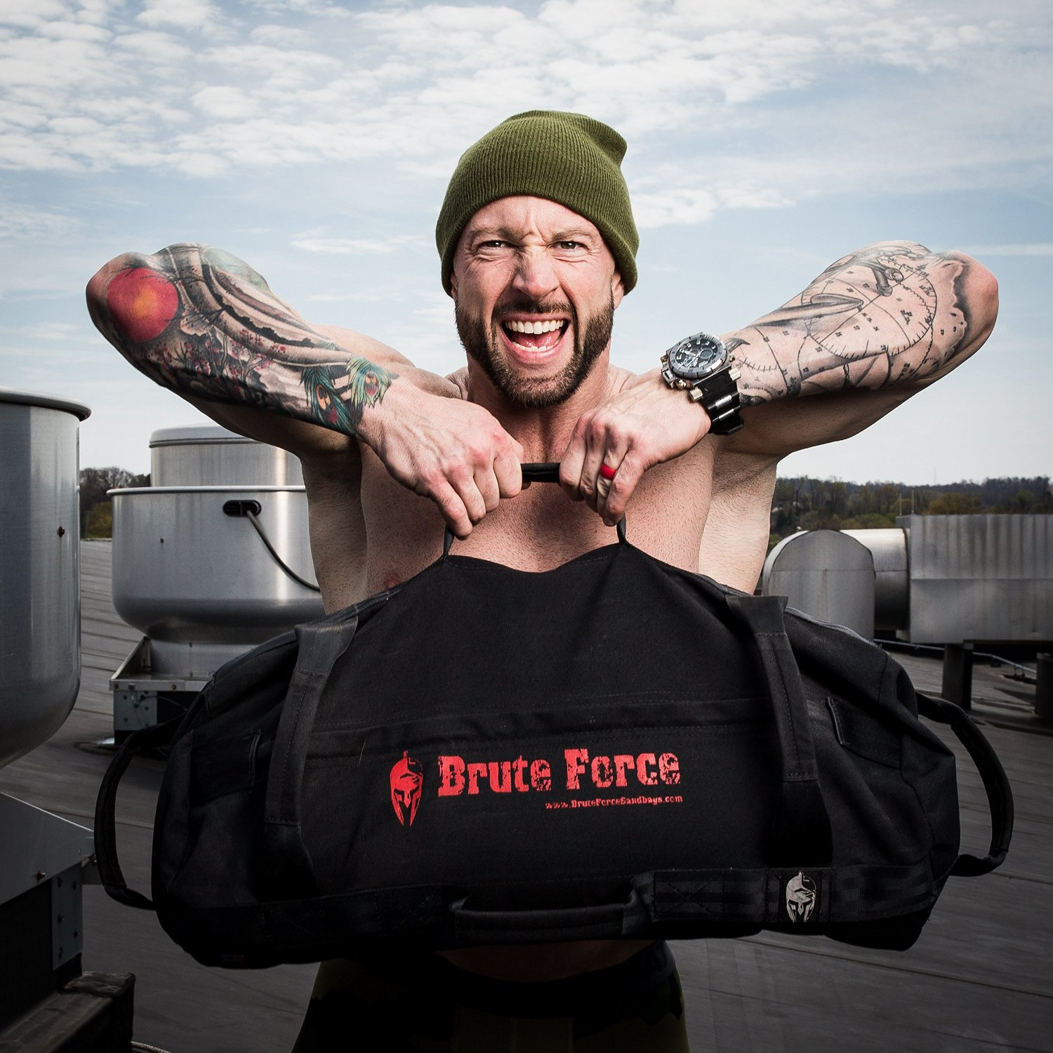 Brute Force Sandbags - Heavy Duty Workout Sandbags