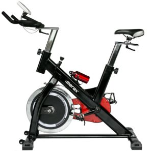 Merax Pro Spin Bike Indoor Cycle Trainer 44-lb