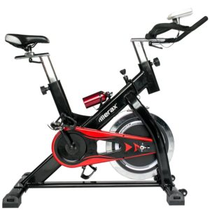 Merax Pro Spin Bike Indoor Cycle Trainer 44-lb Flywheel