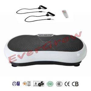 2016 Evergrow Slim Full Body Vibration Platform Plate Exercise Fitness Machine