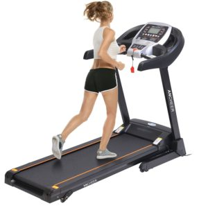 Ancheer 2.25 Folding Electric Exercise Treadmill