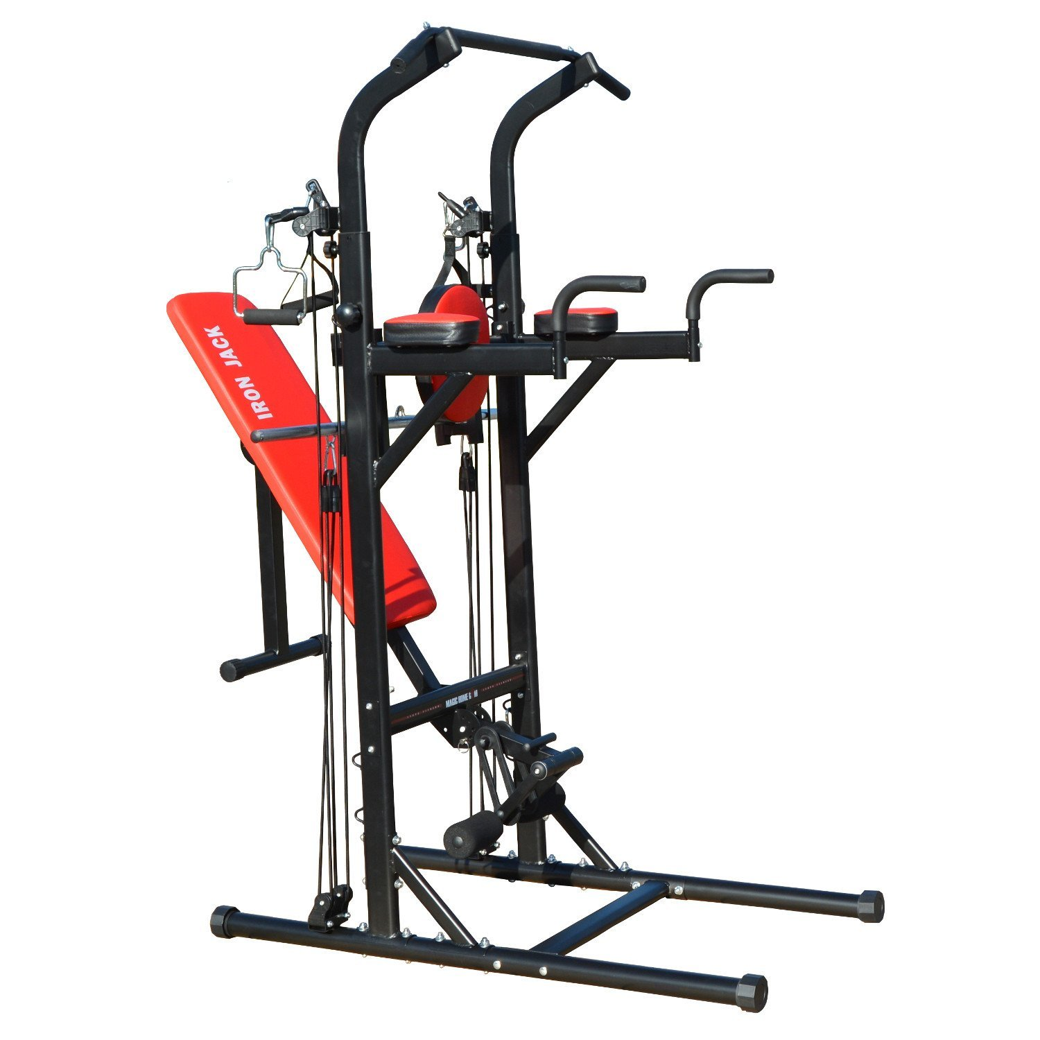 Iron Jack Muli-Function Work Out Exercise Station