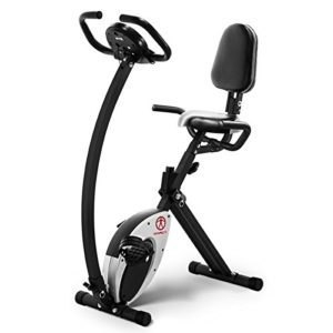 Marcy Foldable Exercise Bike, 250 to 300 pounds, NS-653