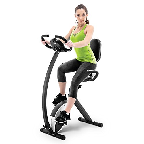 Marcy NS-653 Foldable Exercise Bike, 250 to 300 pounds