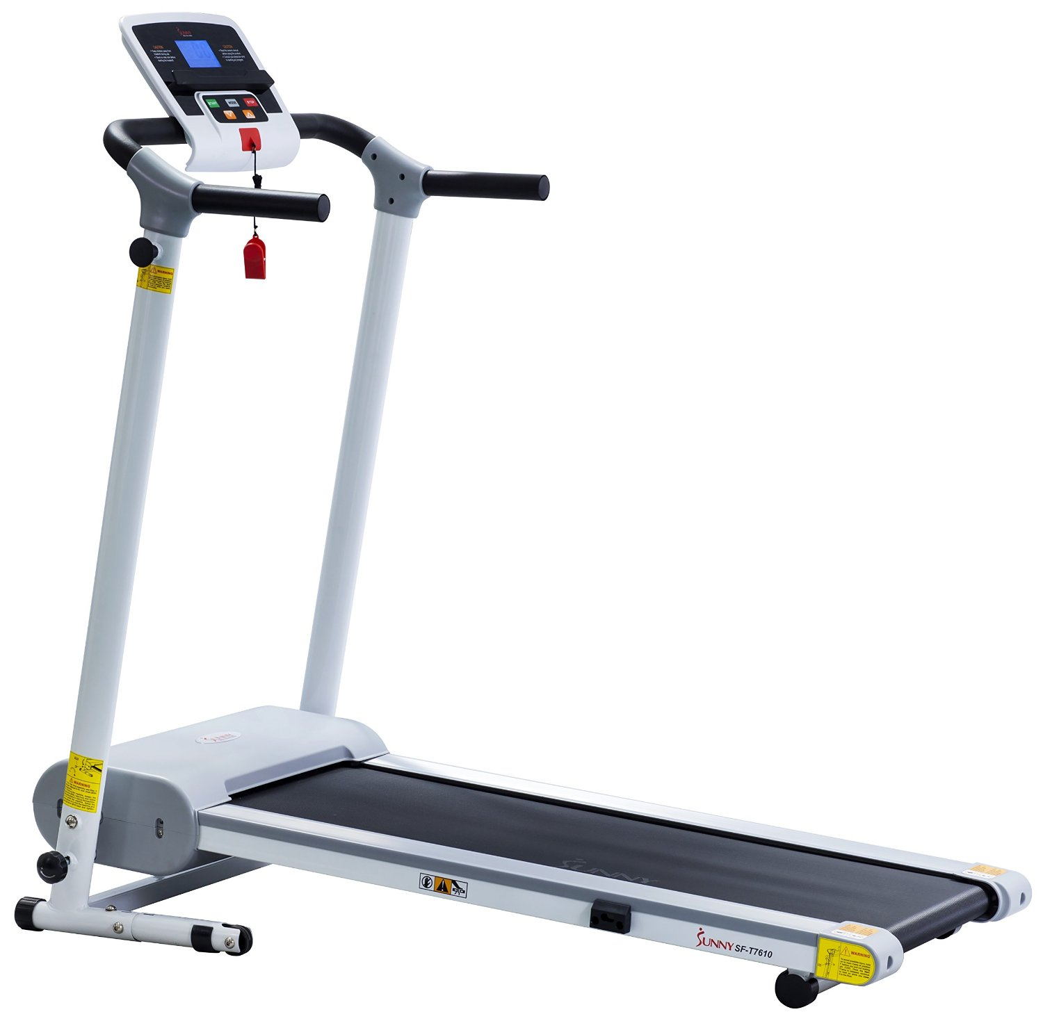 Sunny Health & Fitness SF-T7610 Easy Assembly Motorized Treadmill