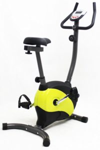 iLIVING Magnetic Upright Bike with Adjustable Seat