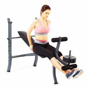 sunny-health-fitness-sf-bh6510-weight-bench-set
