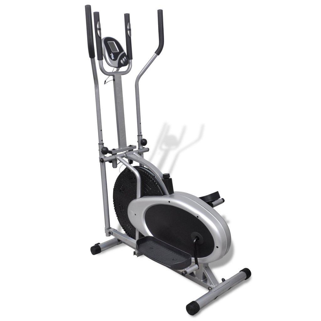 Anself Elliptical Trainer 8.8 lb Magnetic Flywheel Pulse