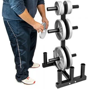 Crown Olympic 2-inch Plate Tree with 6 Bar Holders