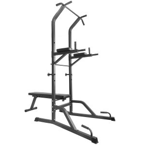 Titan Power Tower Bench Pull Up Dip Station Home Gym