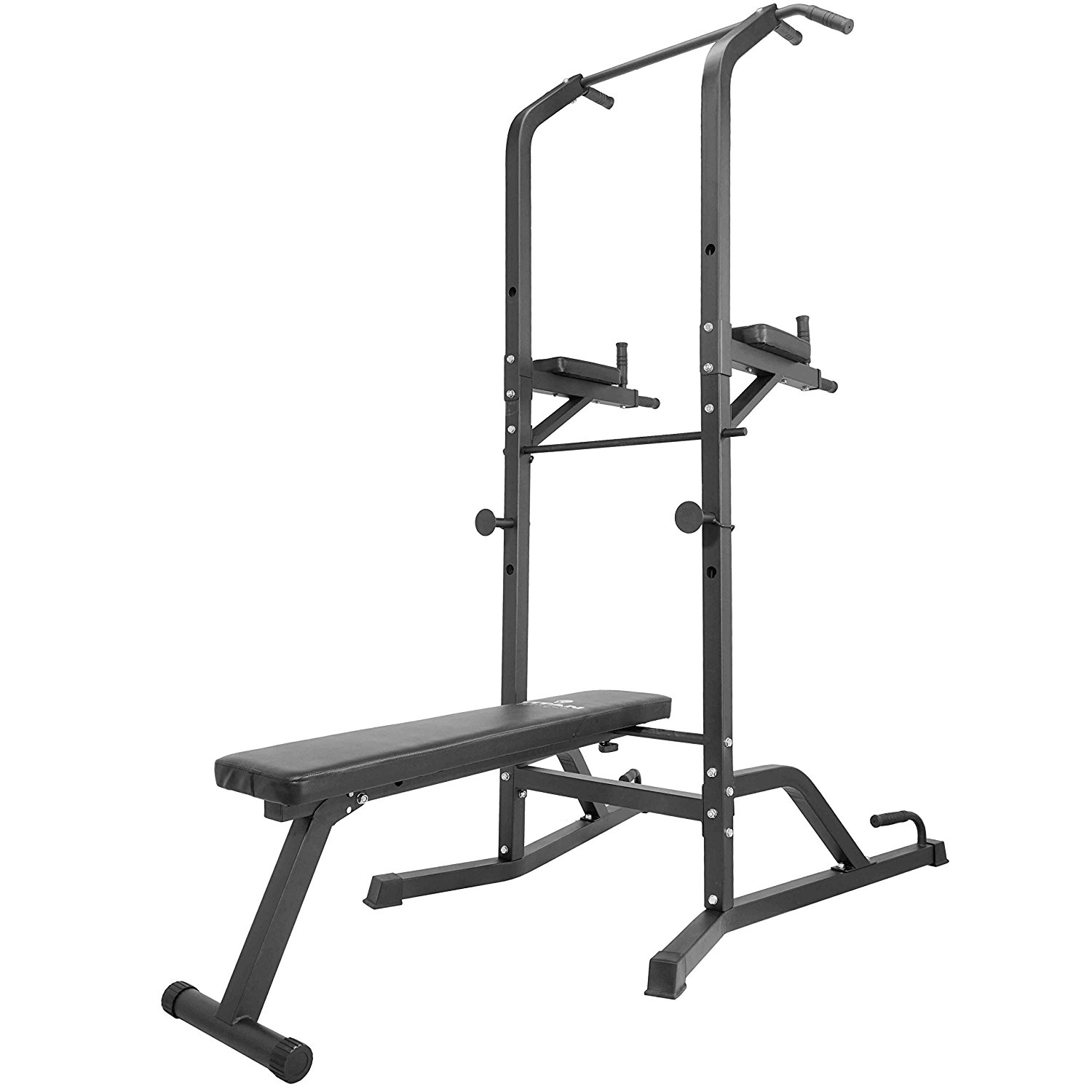 Titan Power Tower Bench Workout Station Pull Up Dip Station Home Gym
