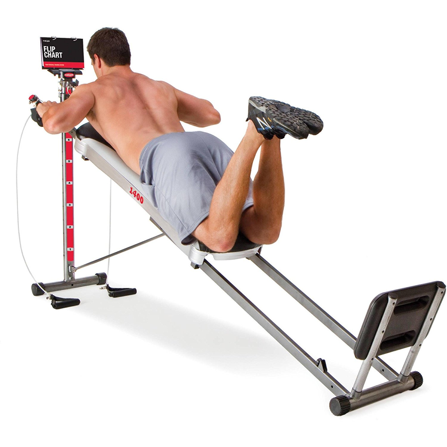 Total Gym 1400 Deluxe Home Fitness Machine