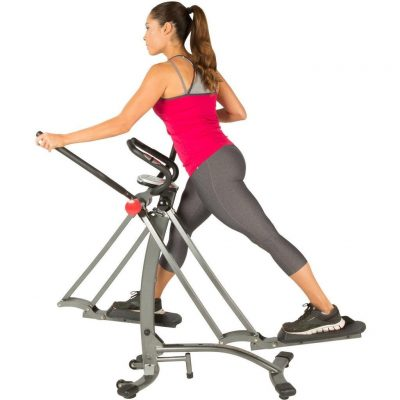 Bundle - Air Walker X1 Elliptical Walker + Abfirm Pro
