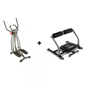 Bundle - Air Walker X1 Elliptical Walker and Abfirm Pro