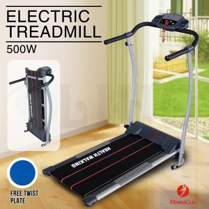 Fitnessclub Portable Folding Electric Motorized Treadmill 500W