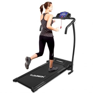Floureon Folding Electric Motorized Treadmill