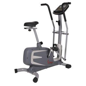 Sunny Health & Fitness SF-B2630 Cross Training Magnetic Upright Bike