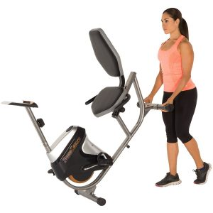 Fitness Reality R4000 Magnetic Foldable Tension Recumbent Bike